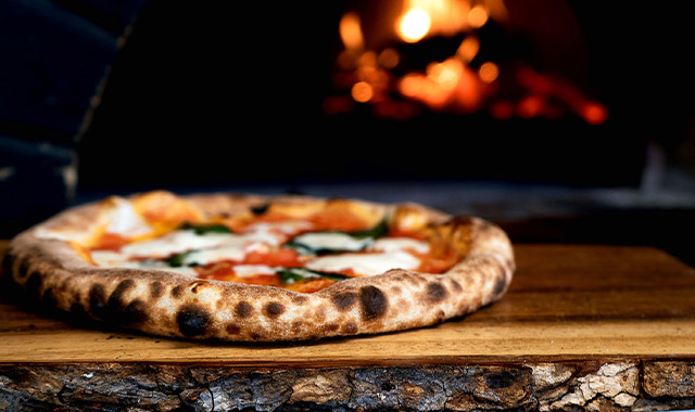 Vente de pizza à St-Cécile