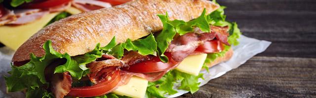 Vente de sandwichs à St-Cécile